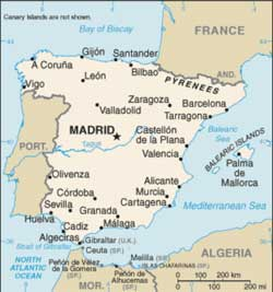 mapa espanha villareal QUE TAL VIAJAR PARA A ESPANHA   DESTINO DE VIAGEM   Viajar para a  mapa espanha villareal
